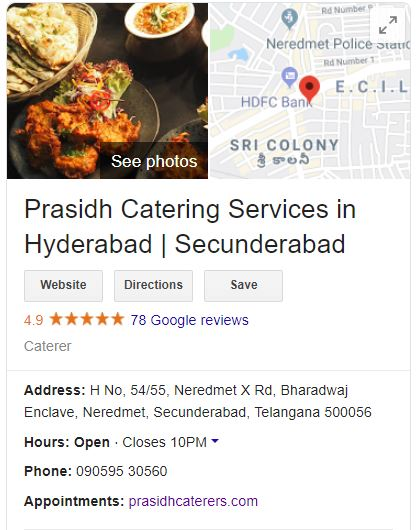 catering services, catering services in Secunderabad, catering services in Hyderabad